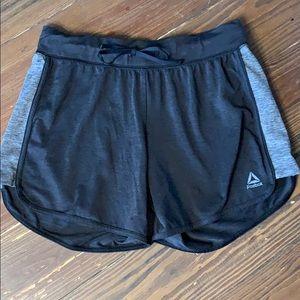 Reebok charcoal gray athletic shorts XS